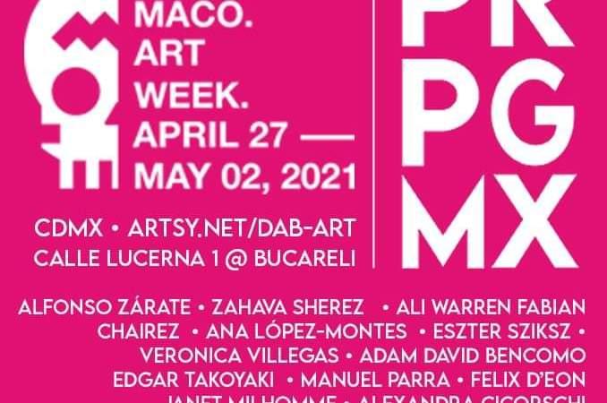 ZⓈONAMACO 2021 presenta las galerias participantes de la semana del arte