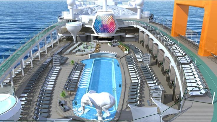 Celebrity Beyond, nuevo barco de Celebrity Cruises, desafía la imaginación, el lujo y te sorprenderá