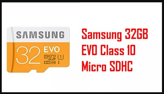 mejor-microsd-raspberrypi-Samsung 32GB EVO Class 10 Micro SDHC