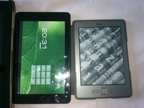 bq maxwell 2 plus vs kindle