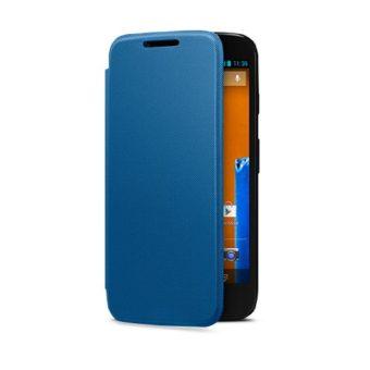 Motorola - Funda Flip oficial para Motorola Moto G, Azul de Motorola