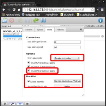 optimizar descarga de torrents raspberry pi