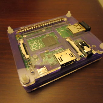 raspberry pi model a+ pimoroni case coupe royale