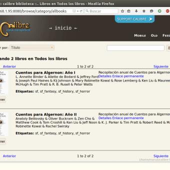 calibre server web
