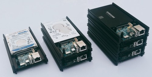odroid-hc1 stacked
