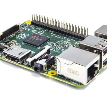 Raspberry Pi 2 Model B (Quad-Core ARM Cortex-A7 CPU 900MHz, 1024MB RAM)