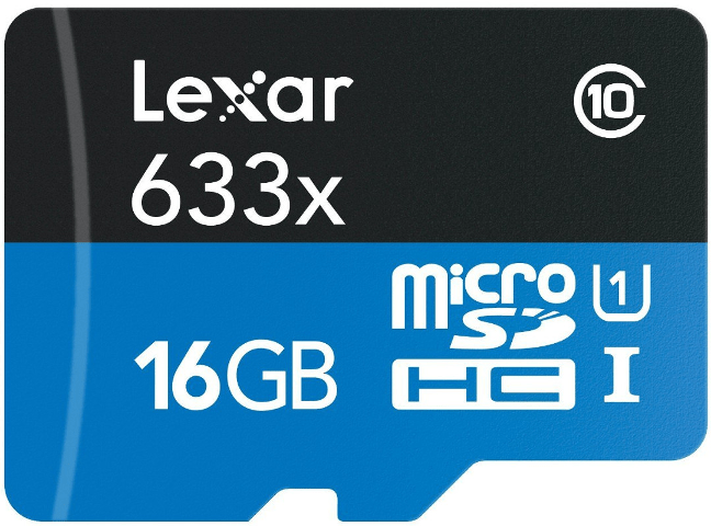mejor microSD-16GB-Lexar-633x