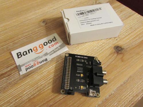 X920 HIFI DAC+ PCM5122