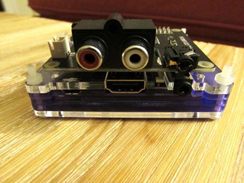 X920 HIFI DAC+ PCM5122 salida RCA y linea