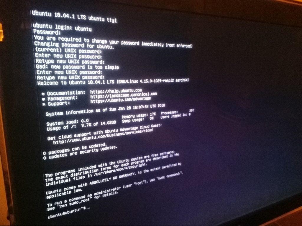 probando ubuntu