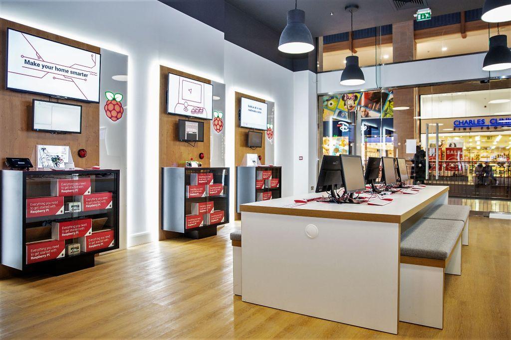 Raspberry Pi Store por dentro