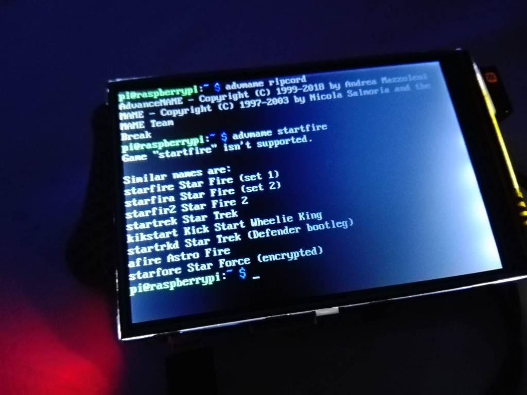 pantalla LCD TFT