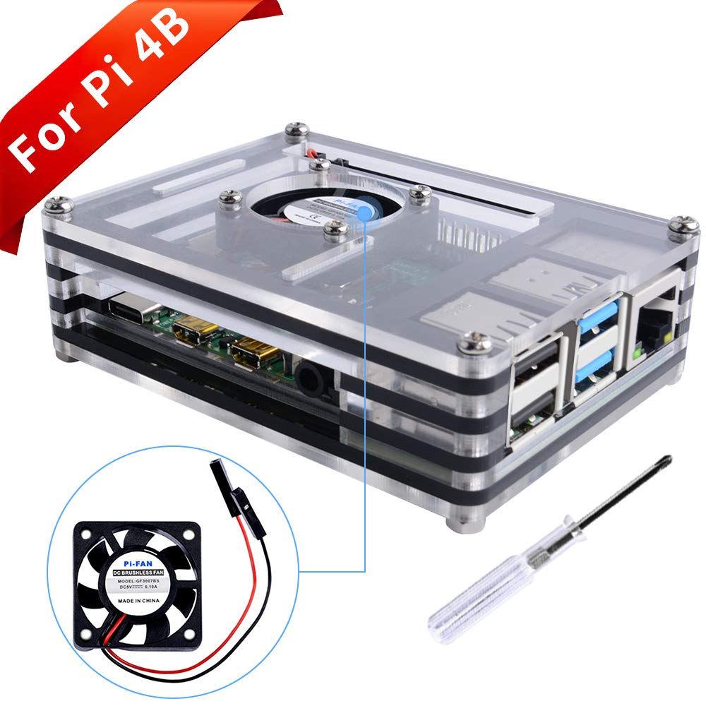 Raspberry Pi 4 caja