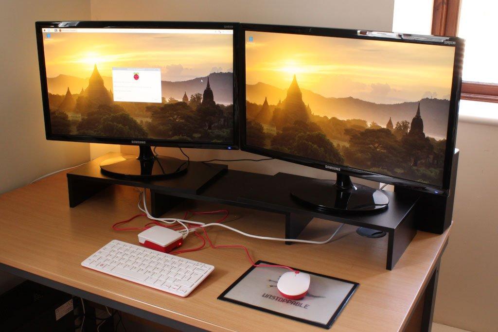 Raspberry Pi 4 escritorio completo