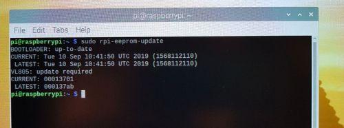 raspberry-pi-4 rpi-eeprom-update