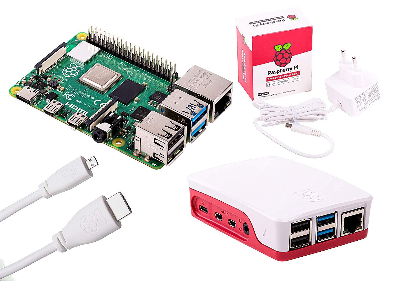 Raspberry Pi 4 Computer Essentials Kit 2GB RAM