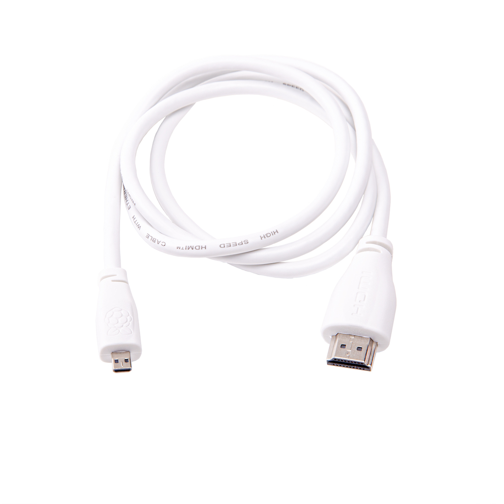 Official Raspberry Pi Micro Hdmi To Hdmi Cable