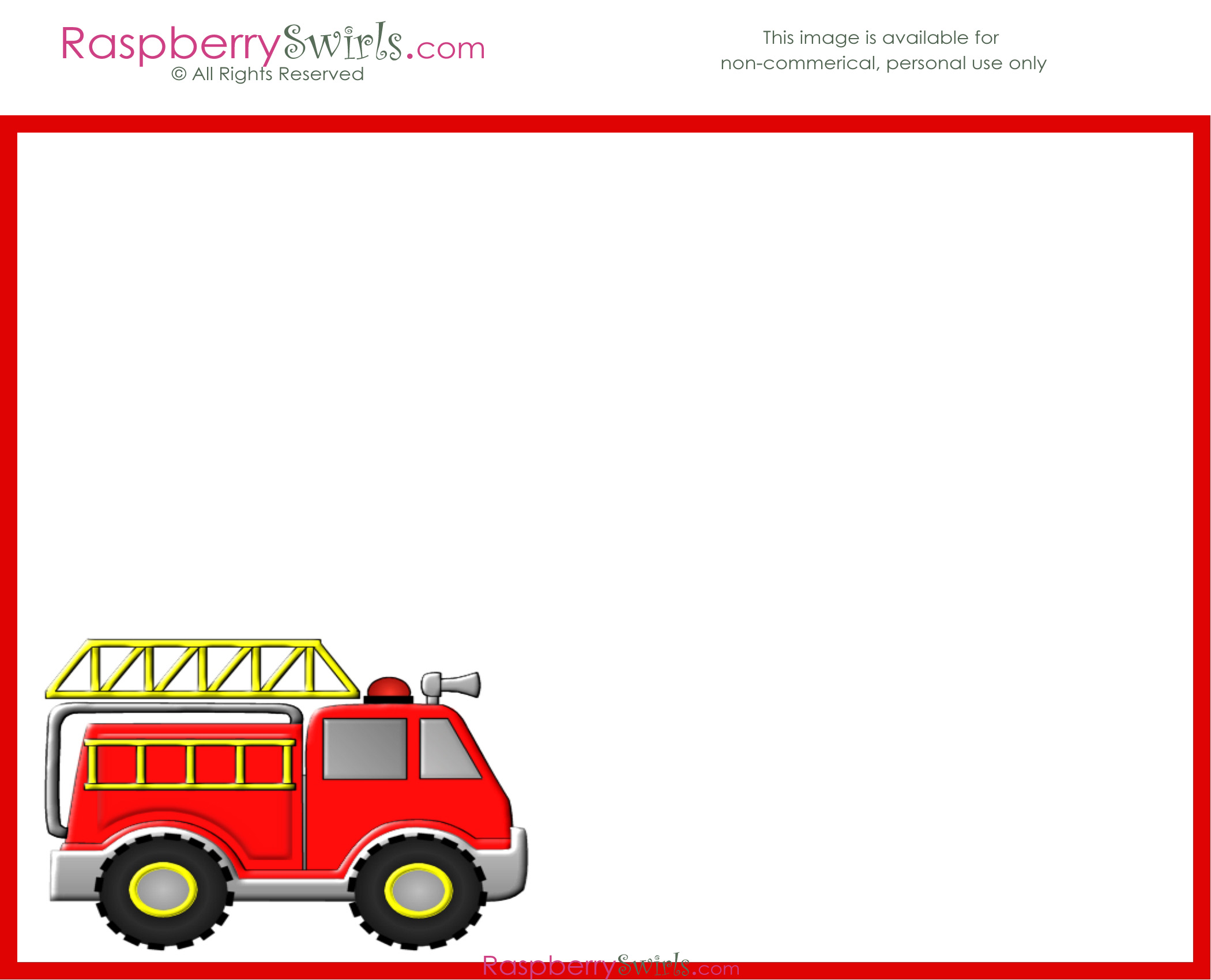 A list of fire departments, which have purchased the same type of apparatus from the bidder in the last five (5) years, must be supplied along with the name and telephone number of a contact person. Free Firetruck Printable Candy Wrappers Invitations And More Raspberry Swirls
