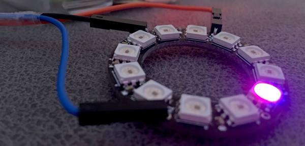neopixel ring raspberry pi