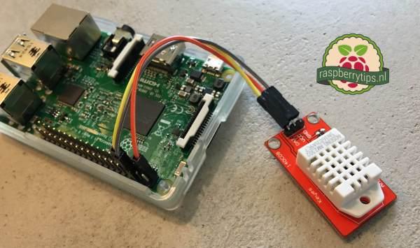 Raspberry Pi DHT22 AM2302 sensor