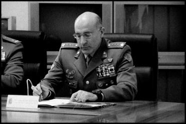 """Col. Emilio Motolese, vicecomandante della Brigata Meccanizzata """"Pinerolo"""". Foto di Antonio Conte"""