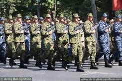 Detachement interarmées croate Bastille Day French army military parade - Défilé militaire 14 July 2013 / 14 juillet 2013
