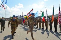 13.10.2014 ToA Unifil Sector West - Gen. PORTOLANO passa in rassegna lo schieramento(3)