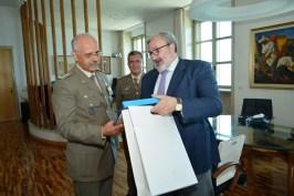 un momento dell'incontro con il Governatore della Puglia