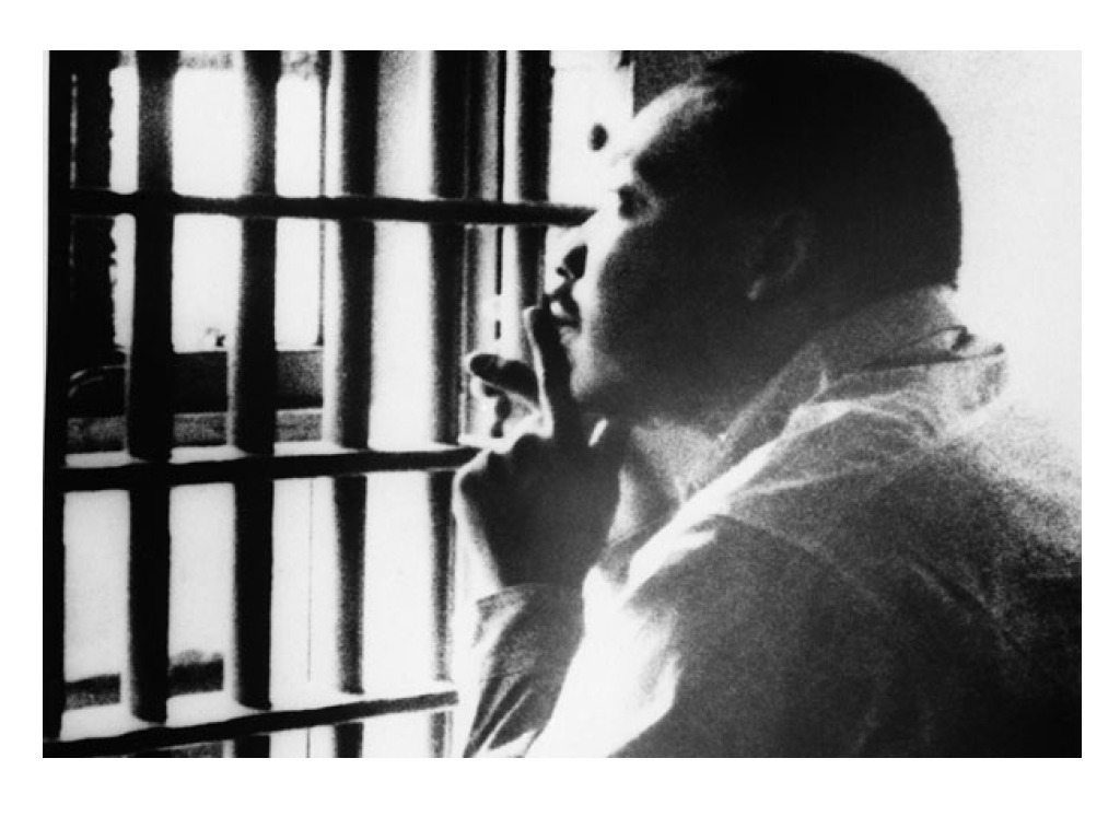 dr king in jail