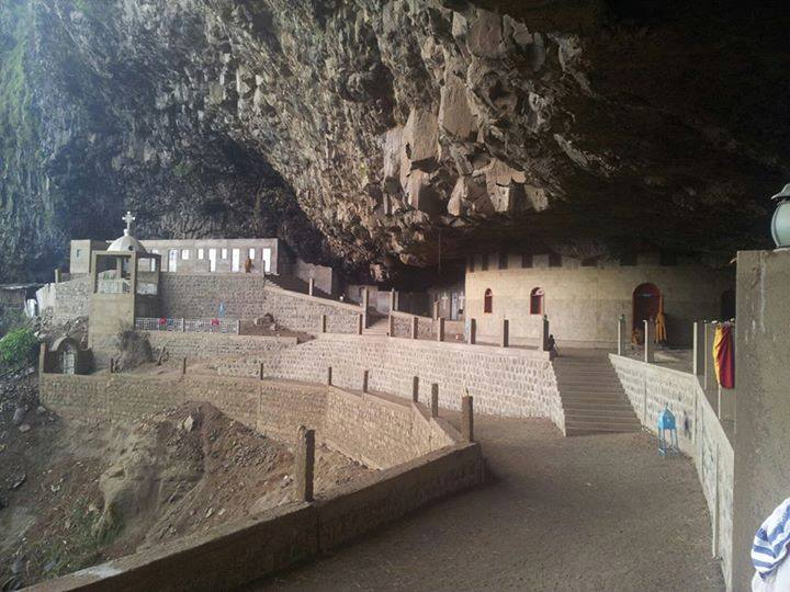 Abune Melke Tsadik Cave Church