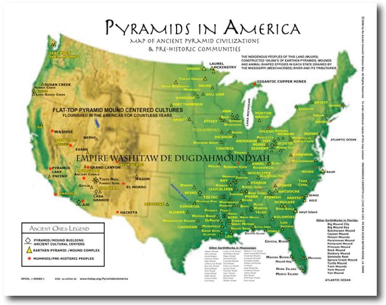 pyramids in america