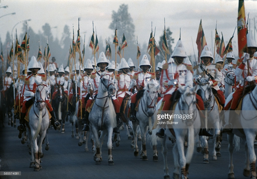Imperial Ethiopia's Honor Guard | Kebur Zabagna ( ክቡር ዘበኛ) Pt 1