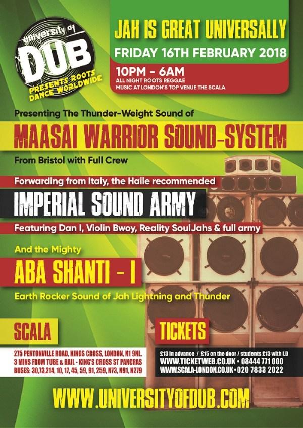 Reggae concerts and dances in London | Rasta Ites