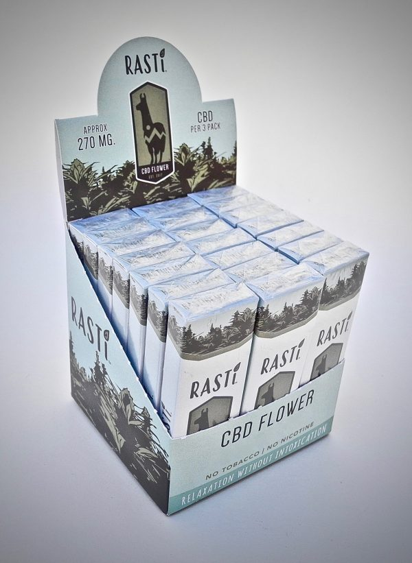 RASTi hemp cigarette carton