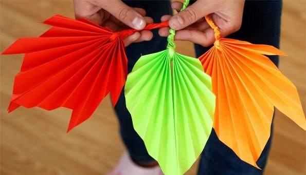 10 идей для осенних поделок из бумаги | rastishka.by