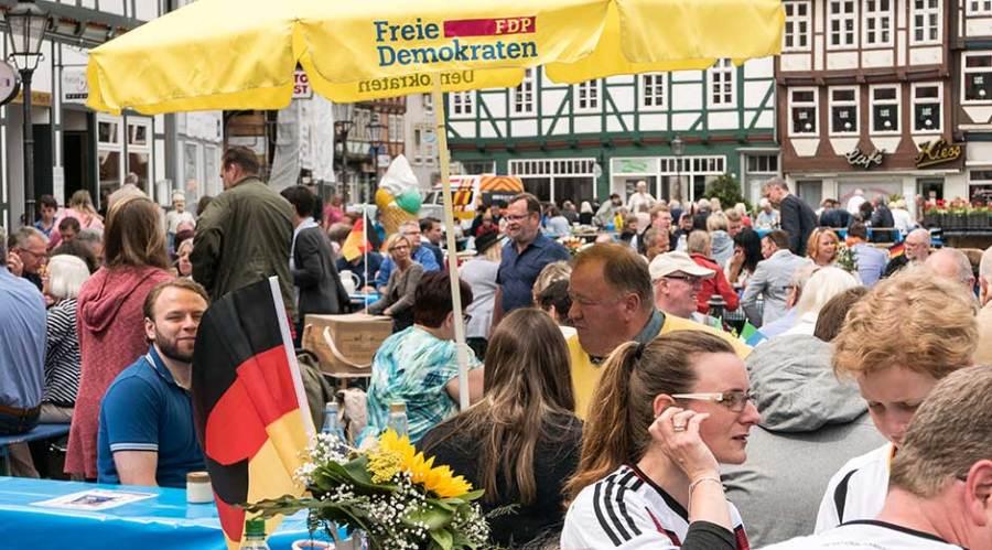 Gleichbehandlung für die Gastronomie der Altstadt