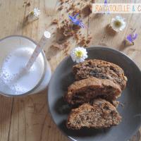 Graines de gourmands #18 : gâteau brioché aux trois chocolats