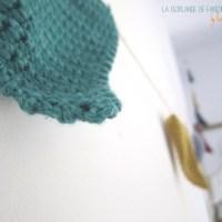 DIY #24 : la guirlande de fanions au crochet