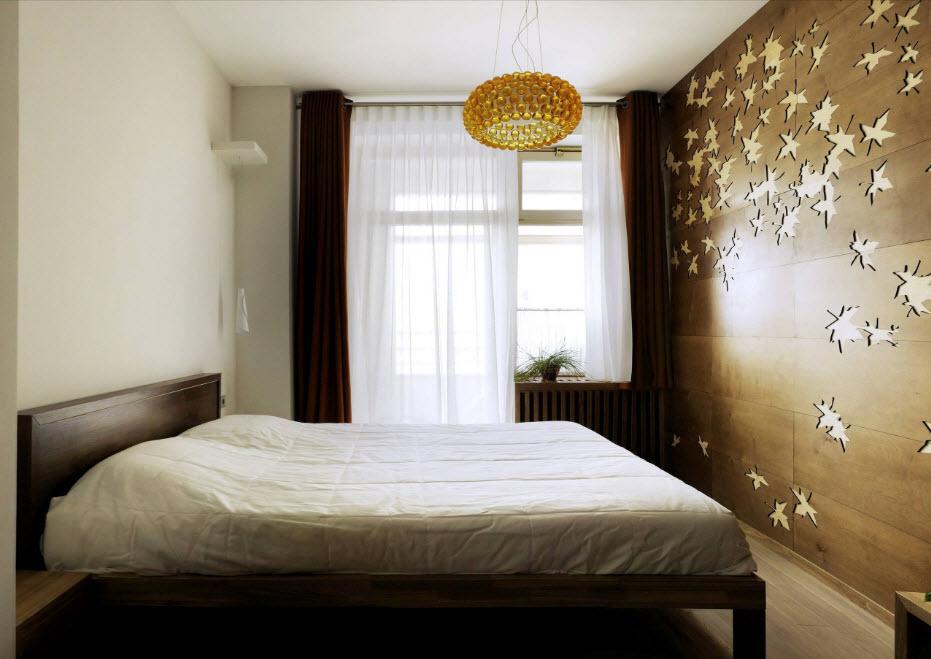 дизайн маленькой спальни 2019 6
