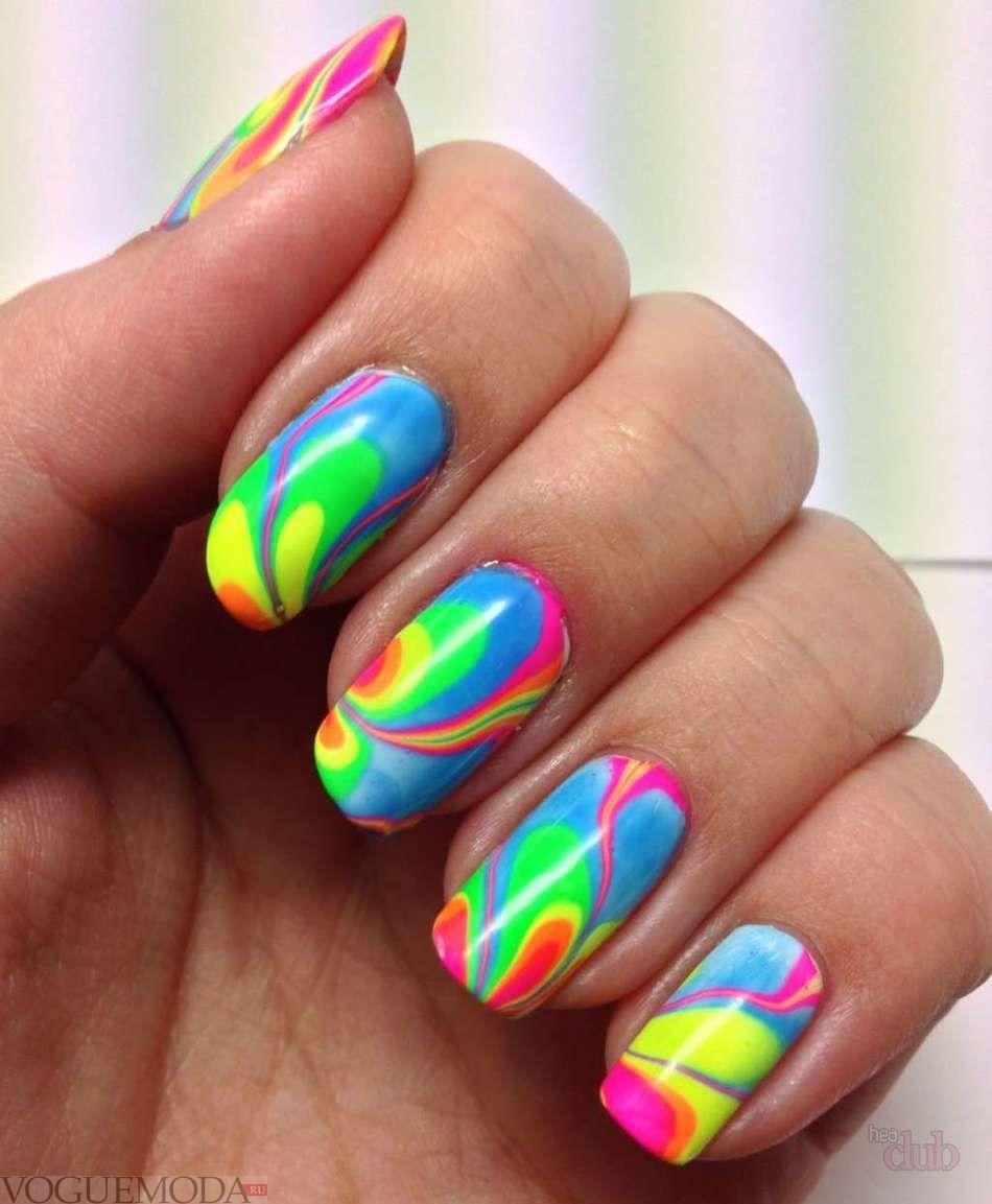 ногти дизайн фото яркие 1