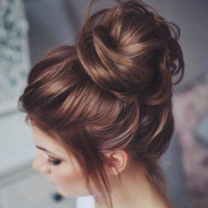Simple and trendy hairstyles to school 20