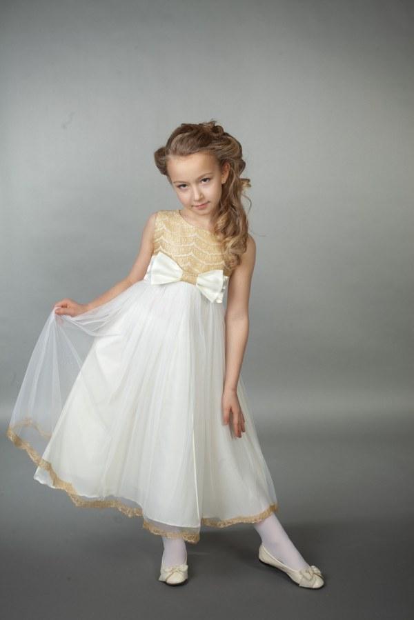 Красивые платья для девочек 7 лет: 100 фото модных фасонов