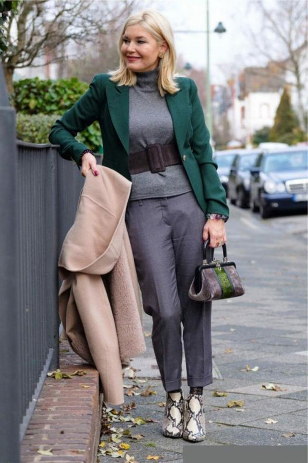 Мода для женщин за 50 Осень-Зима 2020-2021: 100 фото ...