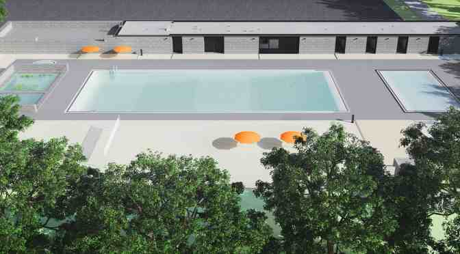 """<span class=""""entry-title-primary"""">Still no pool in Borden Park this season</span> <span class=""""entry-subtitle"""">Pool was redesigned due to budget needs</span>"""