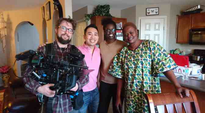 """<span class=""""entry-title-primary"""">Film project tells newcomers' stories</span> <span class=""""entry-subtitle"""">Local filmmaker explores what it means to be Edmontonian</span>"""