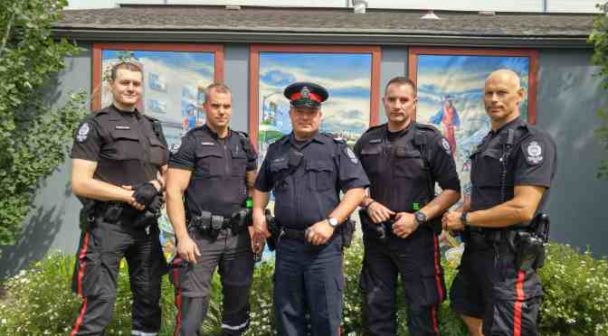 """<span class=""""entry-title-primary"""">Alberta Avenue gets more feet on the beat</span> <span class=""""entry-subtitle"""">Look for officers patrolling by bike and by foot  </span>"""