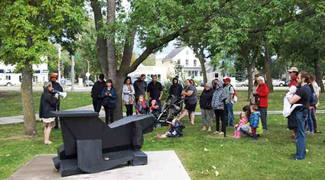 "<span class=""entry-title-primary"">Eleven sculptures installed in Borden Park</span> <span class=""entry-subtitle"">Public art event showcased four women sculptors</span>"