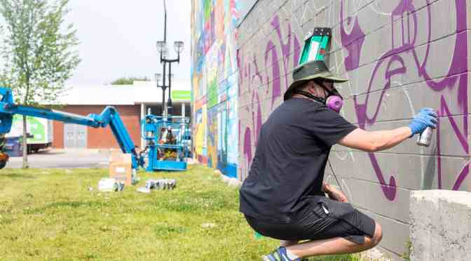 "<span class=""entry-title-primary"">Turning city walls into fantastic murals</span> <span class=""entry-subtitle"">Edmonton festival draws in artists from all over</span>"