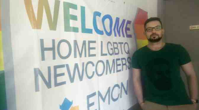 Creating a space for LGBTQ+ newcomers