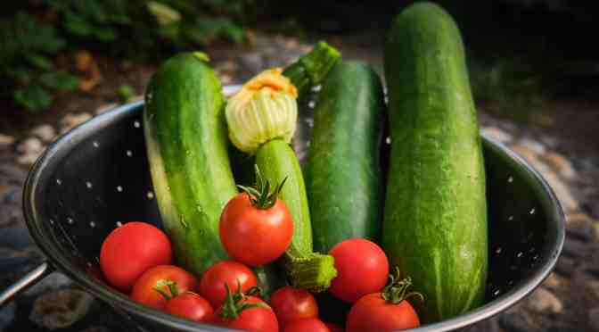 Simple ways to store extra garden harvest